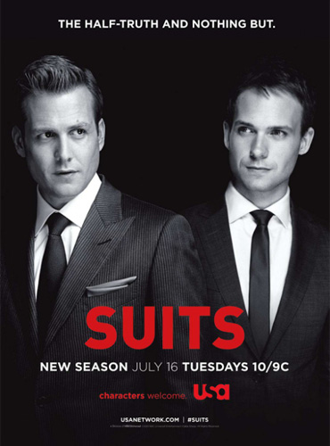 Костюмы в законе (Форс-мажоры) / Suits (3 сезон / 2013) WEB-DLRip/BDRip
