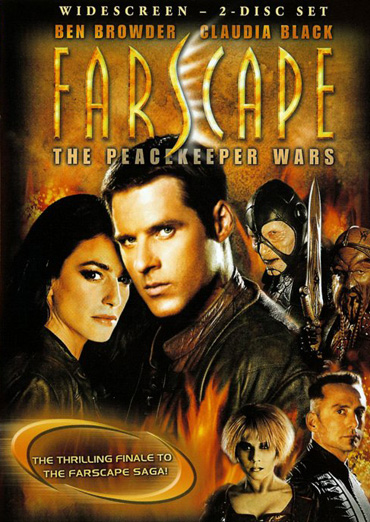 На краю Вселенной: Война Миротворцев (Галактическая война) / Farscape: The Peacekeeper Wars (2004) HDRip