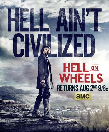 Ад на колёсах / Hell on Wheels (4 сезон / 2014) WEB-DLRip