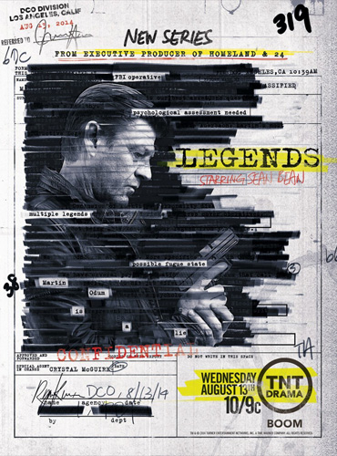 Легенды / Legends (1 сезон / 2014) WEB-DLRip