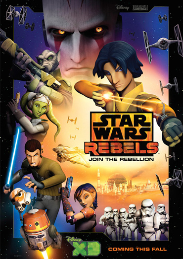 Звездные войны: Повстанцы / Star Wars Rebels (1 сезон / 2014) WEB-DLRip