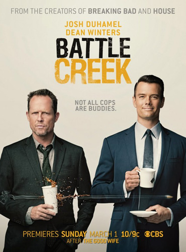 Батл Крик / Battle Creek (1 сезон / 2015) WEB-DLRip