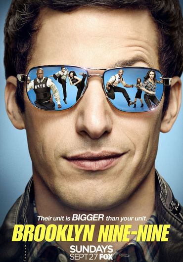 Бруклин 9-9 / Brooklyn Nine-Nine (3 сезон / 2015) WEB-DLRip