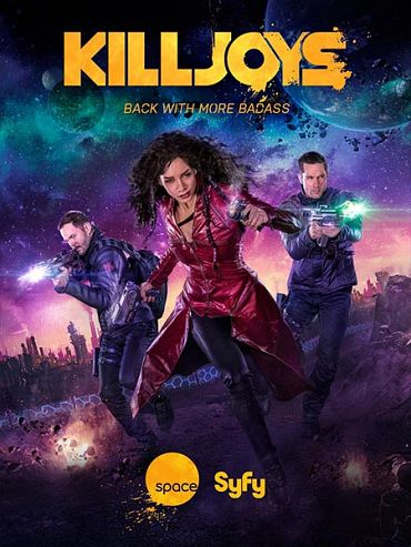 Киллджойс (2 сезон) / Killjoys (2016) WEB-DLRip / HDTVRip