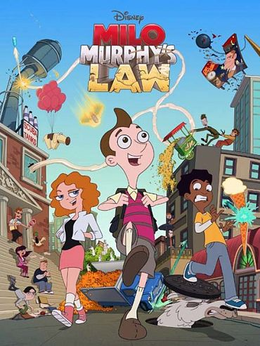 Закон Майло Мёрфи (1 сезон) / Milo Murphy's Law (2016) WEB-DLRip