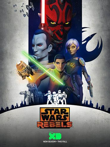 �������� �����: ��������� (3 �����) / Star Wars Rebels  (2016) WEB-DLRip / WEBRip