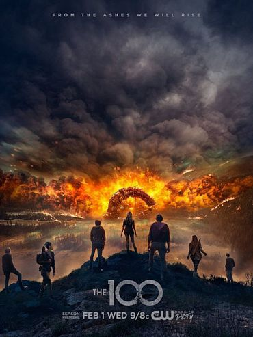 Сотня (4 сезон) / The 100 / The Hundred (2017) WEB-DLRip / HDTVRip