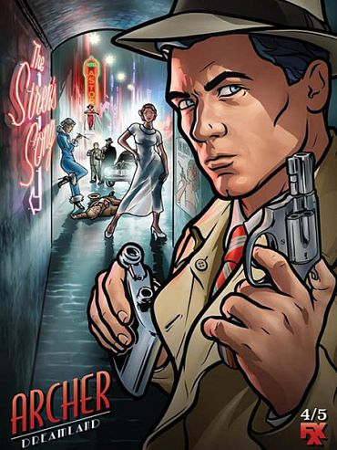 Спецагент Арчер (8 сезон) / Archer (2017) WEB-DLRip