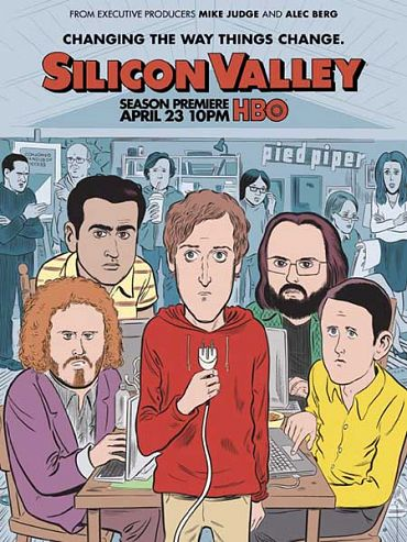 Кремниевая долина / Силиконовая долина (4 сезон) / Silicon Valley (2017) WEB-DLRip