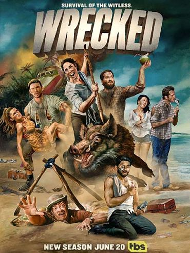 Крушение (2 сезон) / Wrecked (2017) WEB-DLRip