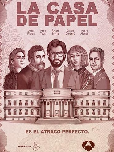 Бумажный дом (1 сезон) / La casa de papel / Money Heist (2017) WEB-DLRip