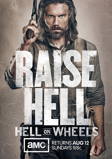 Ад на колёсах / Hell on Wheels (2 сезон / 2012) WEB-DLRip