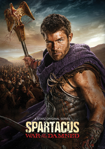 Спартак: Война проклятых / Spartacus: War of the Damned (3 сезон / 2013) HDTVRip