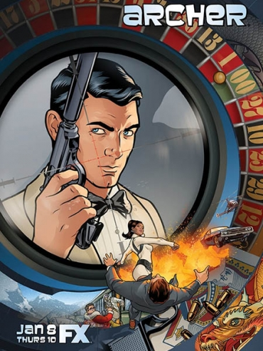 Спецагент Арчер (6 сезон) / Archer (2015) WEB-DLRip