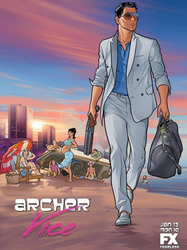 Спецагент Арчер (5 сезон) / Archer (2014) WEB-DLRip