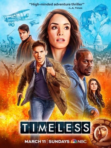 Вне времени (2 сезон) / Timeless (2018) WEB-DLRip / HDTVRip