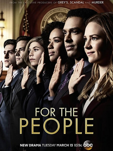 Для людей (1 сезон) / For the People (2018) WEB-DLRip