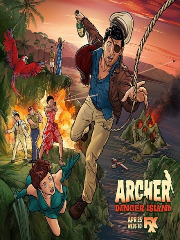 Спецагент Арчер (9 сезон) / Archer (2018) WEB-DLRip