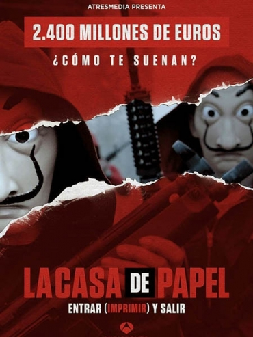 Бумажный дом (2 сезон) / La casa de papel / Money Heist (2018) WEBRip