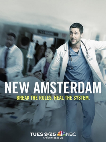 Новый Амстердам (1 сезон) / New Amsterdam (2018) WEB-DLRip / HDTVRip