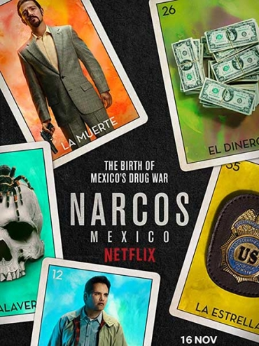 Нарко: Мексика (1 сезон) / Narcos: Mexico (2018) WEB-DLRip