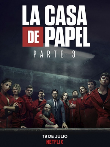 Бумажный дом (3 сезон) / La casa de papel / Money Heist (2019) WEB-DL 720 / WEB-DLRip