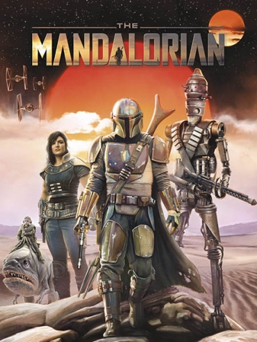 Мандалорец (1 сезон) / The Mandalorian (2019) WEB-DLRip / WEB-DL 1080