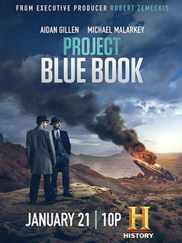 Проект засекречен / Проект «Синяя книга» (2 сезон) / Project Blue Book (2020) WEB-DLRip / WEB-DL 720